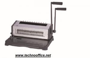 Подвързваща машина с метални спирали HP2088WF- перфорира до 20л/70гр.