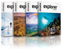 Копирна хартия Explorer 80г/м², формат  А3