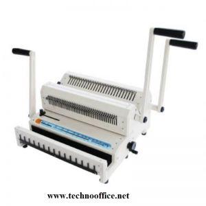 Комбинирана подвързваща машина с метални спирали 3:1 и 2:1- SG 2500