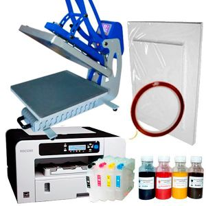 Стартов пакет-Термопреса Best Sublimation C44 с работен плот 40х40 см в комплект с принтер Ricoh 3110 и сублимационни хартии + тиксо