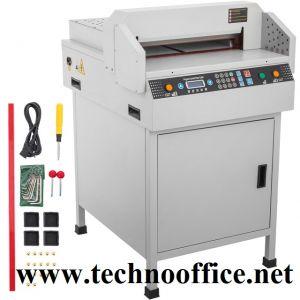 Електрическа гилотина FRONT 450 VS+ до 450 листа до 450мм.
