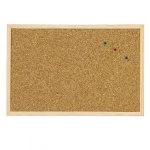 Корково табло с дървена рамка 60х90 cm