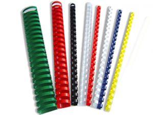 Пластмасови спирали овал или ф28 мм, всички цветове