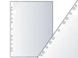 Ламинатно фолио А4, 80 мик, гланц, с перфорация за класьор