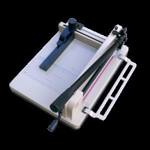 SG 858 A4 - ръчна гилотина с дължина на рязане 320 mm
