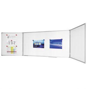 Магнитно тройно бяло табло Legamaster 100x200/100x400 cm