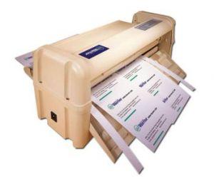 21173 - ел. машина за рязане на визитки А4/10 бр.