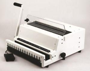 Професионална електрическа подвързваща машина с метални спирали Sonto WD600A - стъпка 3:1